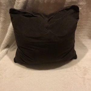 Pier 1 velvet pillow